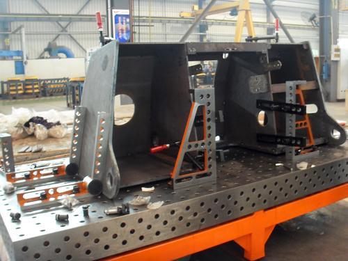 三维组合焊接工作台