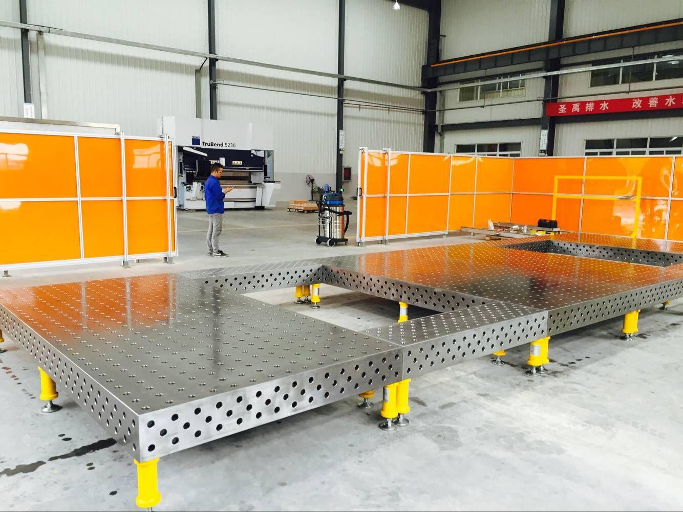 三维多孔焊接平台